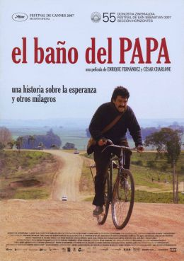 """Постер к фильму """"Туалет для Папы"""" /El bano del Papa/ (2007)"""