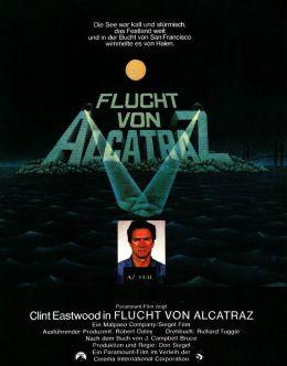 """Постер к фильму """"Побег из Алькатраса"""" /Escape from Alcatraz/ (1979)"""