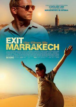 """Постер к фильму """"Съезд на Марракеш"""" /Exit Marrakech/ (2013)"""