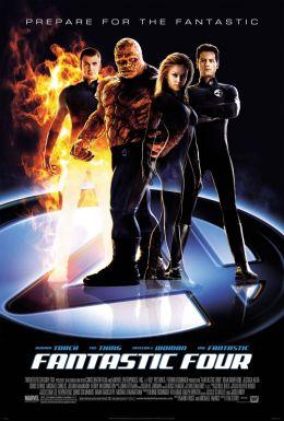 """Постер к фильму """"Фантастическая четверка"""" /Fantastic Four/ (2005)"""