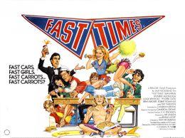"""Постер к фильму """"Беспечные времена в «Риджмонт Хай» """" /Fast Times at Ridgemont High/ (1982)"""
