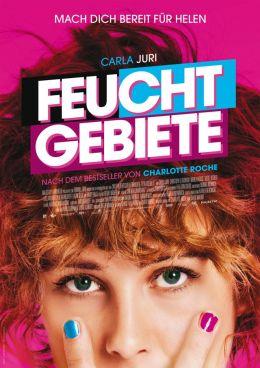 """Постер к фильму """"Запретная территория"""" /Feuchtgebiete/ (2013)"""