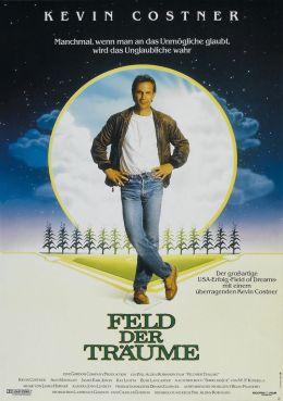 """Постер к фильму """"Поле чудес"""" /Field of Dreams/ (1989)"""
