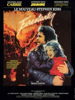 """Постер к фильму """"Порождающая огонь"""" /Firestarter/ (1984)"""