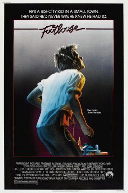 """Постер к фильму """"Свободные"""" /Footloose/ (1984)"""