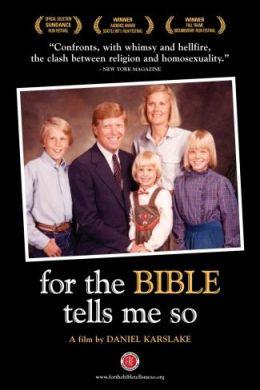 """Постер к фильму """"Ибо сказано в Библии"""" /For the Bible Tells Me So/ (2007)"""