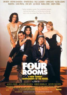 """Постер к фильму """"Четыре комнаты"""" /Four Rooms/ (1995)"""