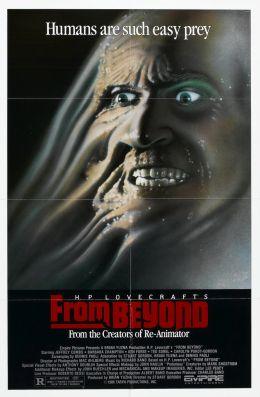 """Постер к фильму """"Извне"""" /From Beyond/ (1986)"""