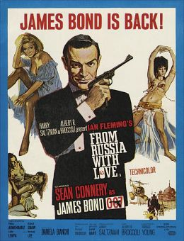 """Постер к фильму """"Из России с любовью"""" /From Russia with Love/ (1963)"""