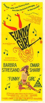 """Постер к фильму """"Смешная девчонка"""" /Funny Girl/ (1968)"""