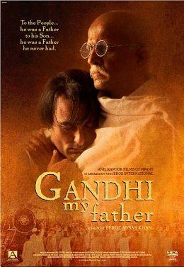"""Постер к фильму """"Мой отец Ганди"""" /Gandhi, My Father/ (2007)"""