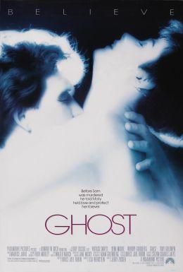 """Постер к фильму """"Привидение"""" /Ghost/ (1990)"""