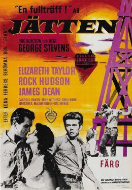 """Постер к фильму """"Гигант"""" /Giant/ (1956)"""