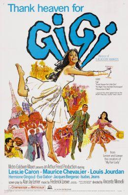 """Постер к фильму """"Жижи"""" /Gigi/ (1958)"""