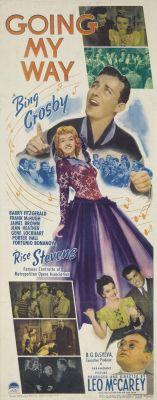 "Постер к фильму ""Идти своим путем"" /Going My Way/ (1944)"
