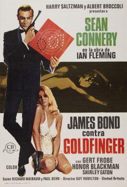 """Постер к фильму """"Голдфингер"""" /Goldfinger/ (1964)"""