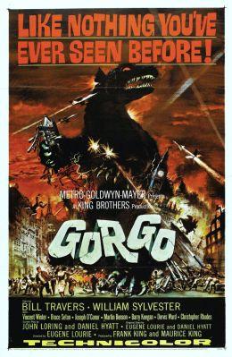"""Постер к фильму """"Горго"""" /Gorgo/ (1961)"""