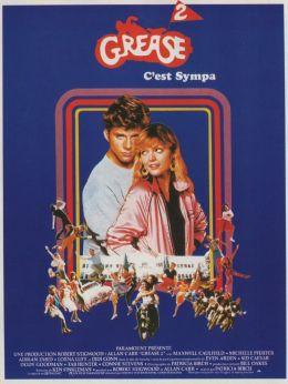 "Постер к фильму ""Бриолин 2"" /Grease 2/ (1982)"