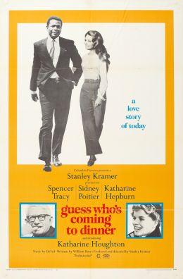 "Постер к фильму ""Угадай, кто придет к обеду"" /Guess Who's Coming to Dinner/ (1967)"