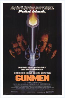 """Постер к фильму """"Стрелки"""" /Gunmen/ (1993)"""