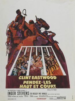 """Постер к фильму """"Вздерни их повыше"""" /Hang 'Em High/ (1968)"""