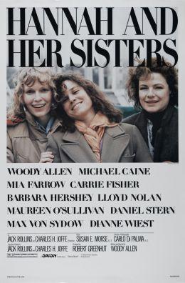 "Постер к фильму ""Ханна и ее сестры"" /Hannah and Her Sisters/ (1986)"