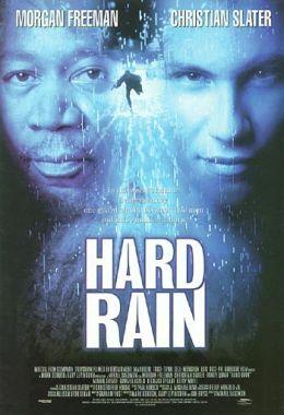 """Постер к фильму """"Ливень"""" /Hard Rain/ (1998)"""