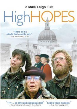 """Постер к фильму """"Высокие надежды"""" /High Hopes/ (1988)"""