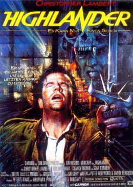 """Постер к фильму """"Горец"""" /Highlander/ (1986)"""