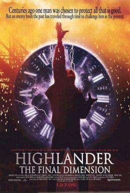"""Постер к фильму """"Горец 3: Последнее измерение"""" /Highlander: The Final Dimension/ (1994)"""