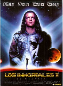 """Постер к фильму """"Горец 2: Оживление"""" /Highlander II: The Quickening/ (1991)"""