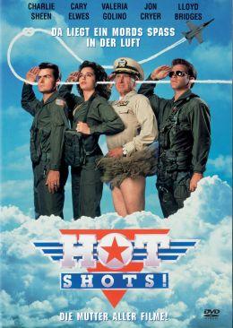 """Постер к фильму """"Горячие головы"""" /Hot Shots!/ (1991)"""