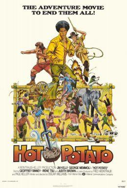 """Постер к фильму """"Горячая картошка"""" /Hot Potato/ (1976)"""