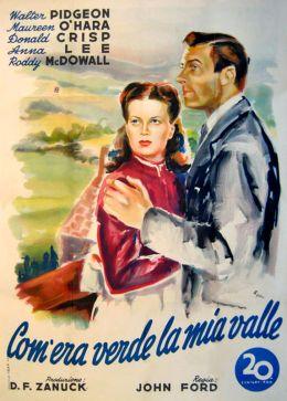 "Постер к фильму ""Как зелена была моя долина"" /How Green Was My Valley/ (1941)"