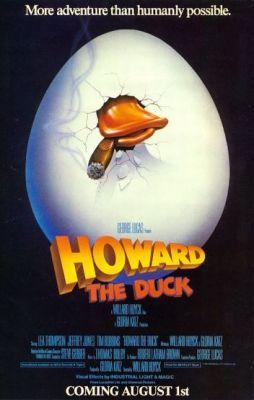 """Постер к фильму """"Говард-утка"""" /Howard the Duck/ (1986)"""
