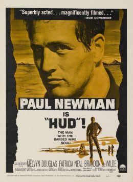 "Постер к фильму ""Хад"" /Hud/ (1963)"