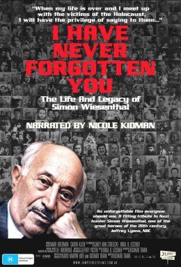 "Постер к фильму ""Биография Симона Визенталя "" /I Have Never Forgotten You: The Life & Legacy of Simon Wiesenthal/ (2007)"