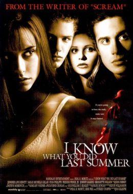 """Постер к фильму """"Я знаю, что вы сделали прошлым летом"""" /I Know What You Did Last Summer/ (1997)"""