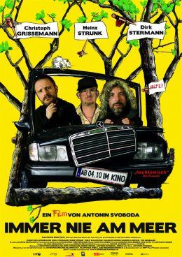 """Постер к фильму """"Всегда, никогда, где-нибудь"""" /Immer nie am Meer/ (2007)"""