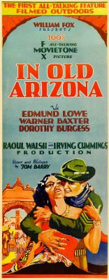"Постер к фильму ""В старой Аризоне"" /In Old Arizona/ (1928)"