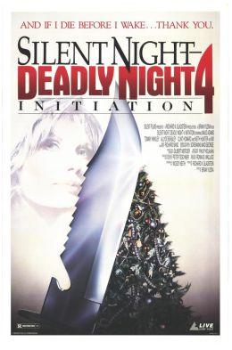 """Постер к фильму """"Инициация: Тихая ночь, смертельная ночь 4"""" /Initiation: Silent Night, Deadly Night 4 (1990)/ (1990)"""
