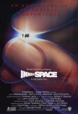 """Постер к фильму """"Внутреннее пространство"""" /Innerspace/ (1987)"""