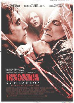 """Постер к фильму """"Бессонница"""" /Insomnia/ (2002)"""