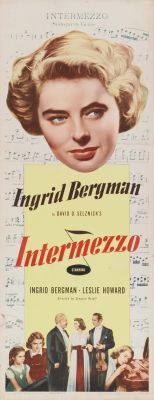 """Постер к фильму """"Интермеццо"""" /Intermezzo: A Love Story/ (1939)"""