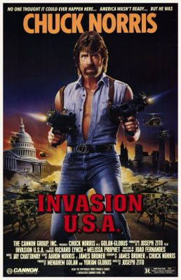 """Постер к фильму """"Вторжение в США"""" /Invasion U.S.A./ (1985)"""