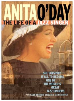 """Постер к фильму """"Анита О'Дэй: Жизнь джазовой певицы"""" /Anita O'Day: The Life of a Jazz Singer/ (2007)"""