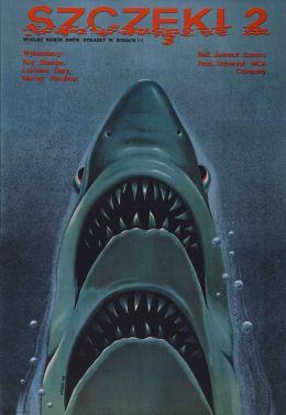 """Постер к фильму """"Челюсти 2"""" /Jaws 2/ (1978)"""
