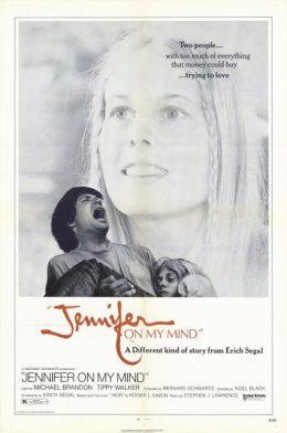 "Постер к фильму ""Думаю о Дженнифер"" /Jennifer on My Mind/ (1971)"