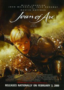 "Постер к фильму ""Жанна д'Арк"" /The Messenger: The Story of Joan of Arc/ (1999)"