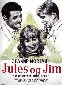 """Постер к фильму """"Жюль и Джим"""" /Jules et Jim/ (1962)"""
